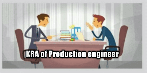 kra of a production engineer