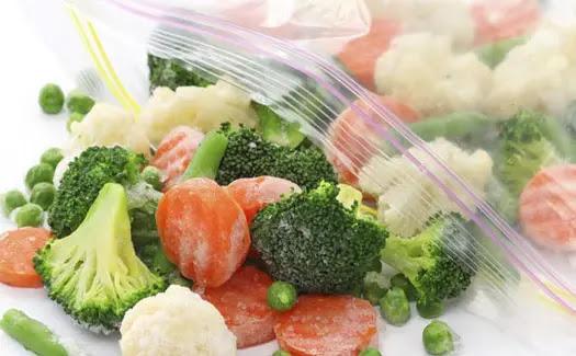 طرق سهله لتجميد الخضروات والفاكهة واللحوم