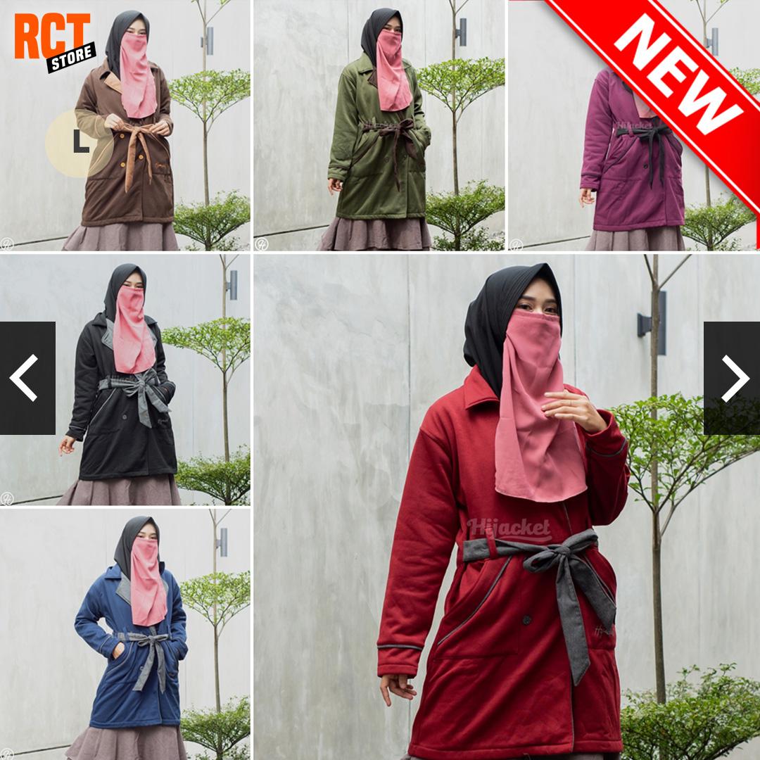 Jual jaket khusus hijaber kece!