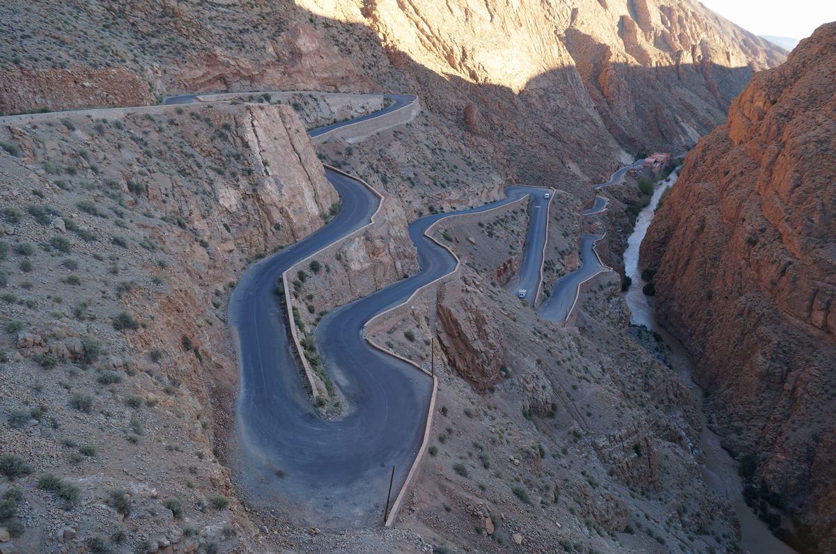 carretera gargantas del dades, carreteras de Marruecos