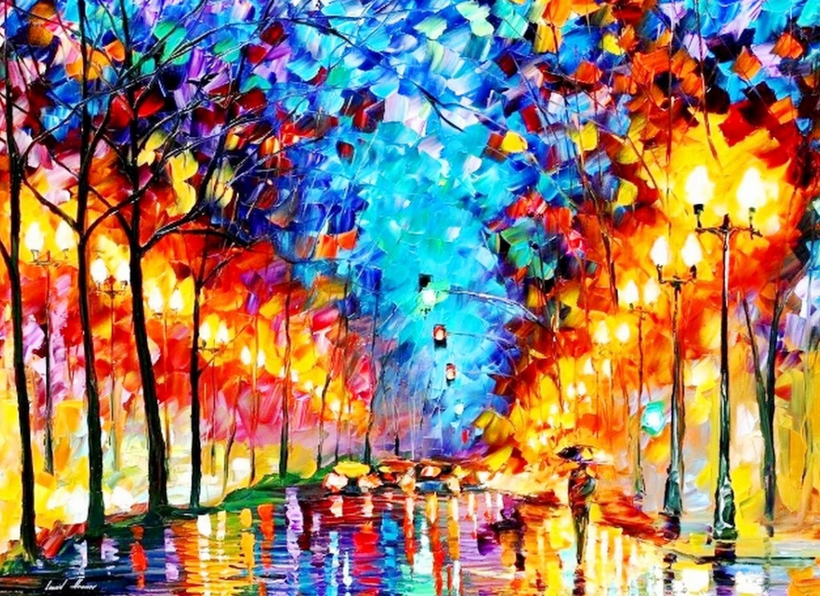 Pintura moderna y fotograf a art stica pinturas con - Pintar un cuadro moderno ...