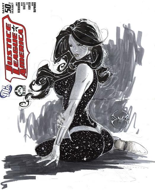 JLA 50 Donna Troy Hero IN