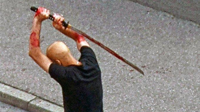 Schwertangriff