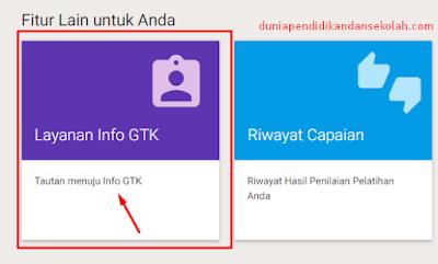 cara singkat cek info gtk terbaru di sim pkb