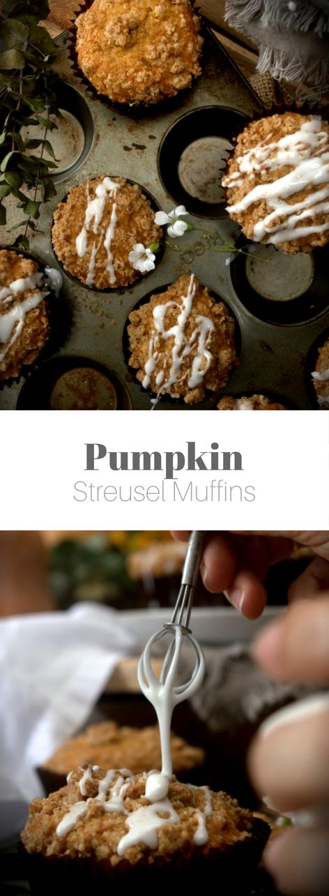 Top 10 Superalimentos: La Calabaza- Receta de Muffins de Calabaza con Streusel