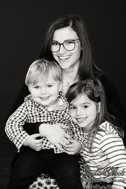 Photos de famille en studio