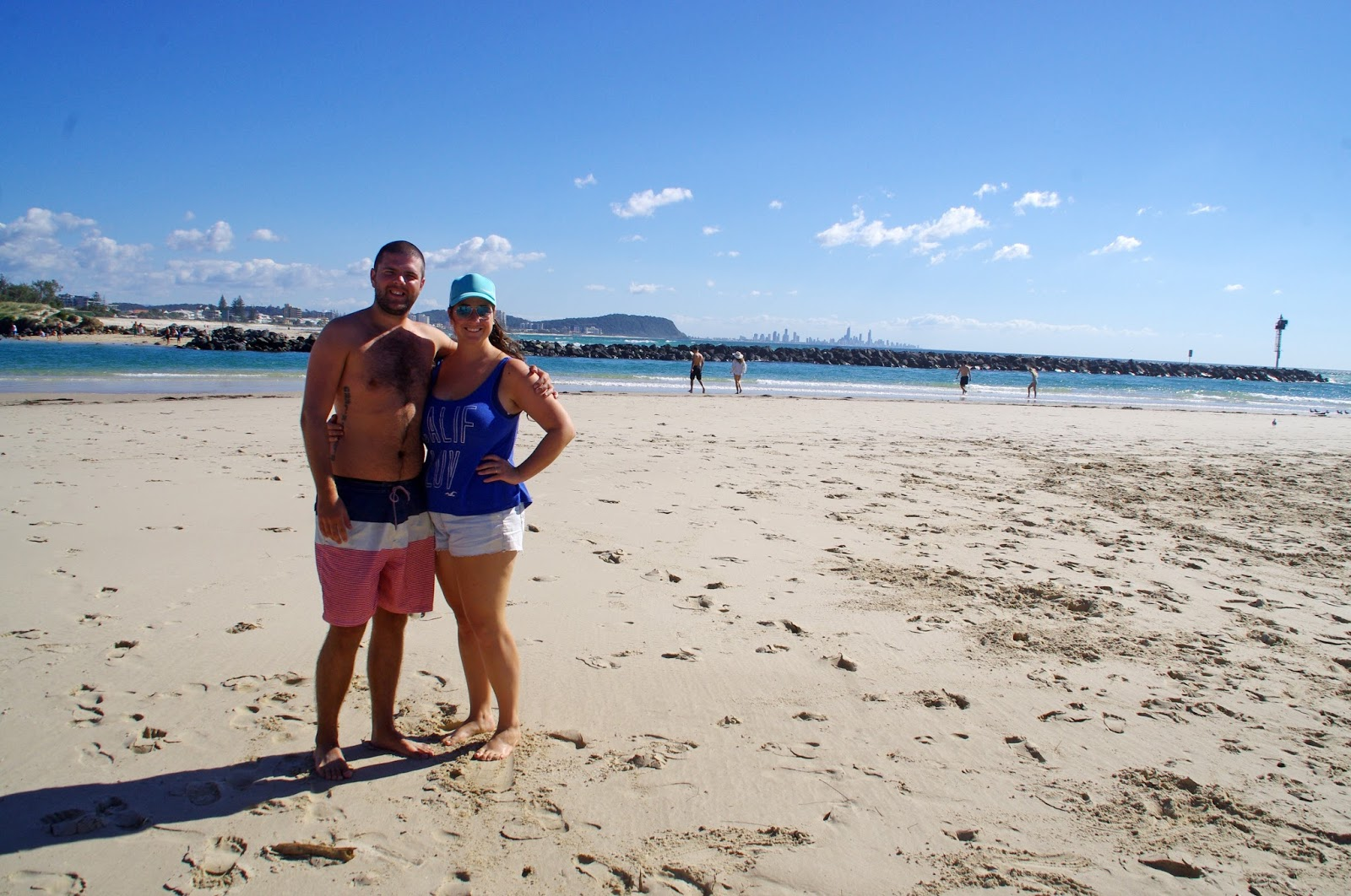 Couple at Currumbin Creek
