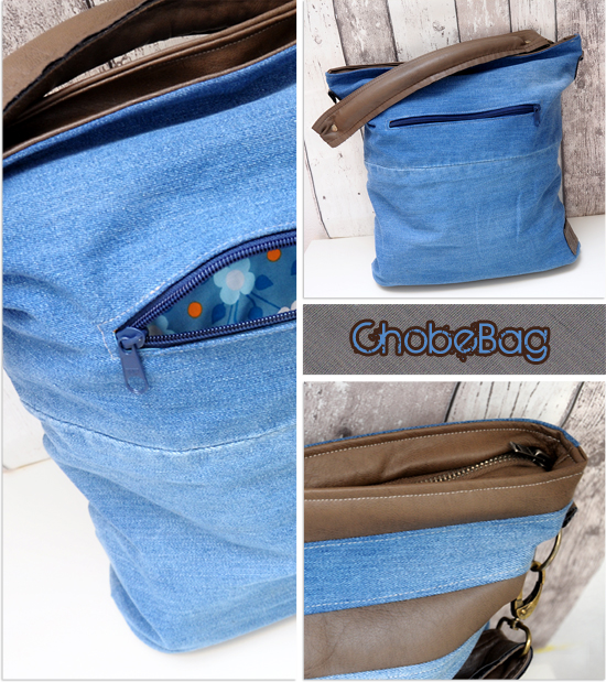 Upcycling Tasche Chobe by EllePuls