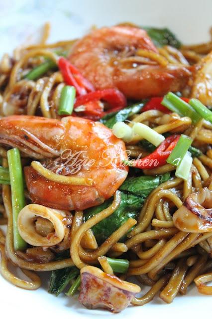 Memang diakui resepi di blog saya memang banyak resepi ulangan Mee Goreng Sedap Pujaan Hati
