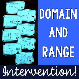 Domain and Range Intervention!