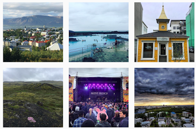 Instagram Iceland Airwaves 2017
