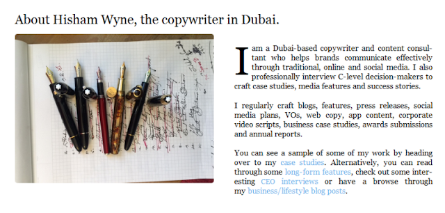 weel-known event presenter and copywriter in Dubai