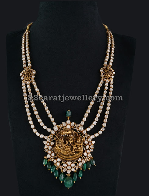 Pachi Set with Krishna Locket by Tibarumal