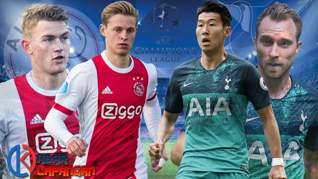 Prediksi Bola Ajax vs Tottenham Hotspur Liga Champions
