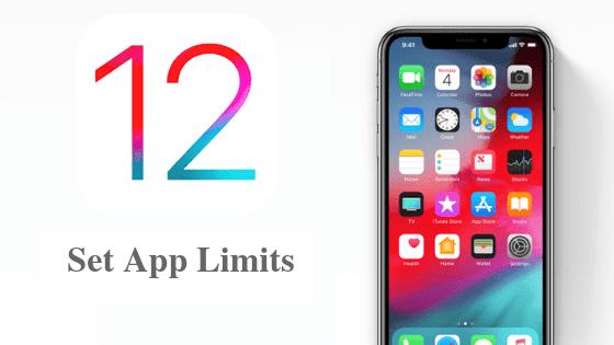 كيفية تعيين حدود التطبيق على نظام التشغيل iOS 12