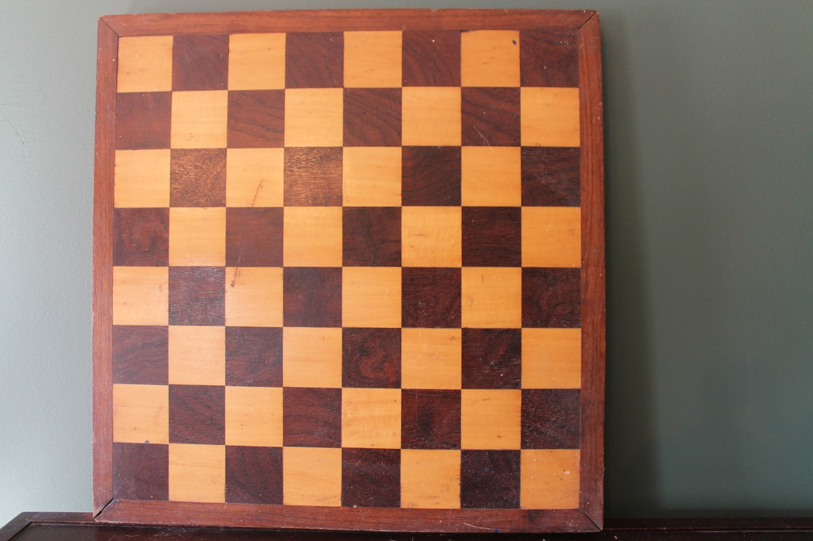 This Week's Vintage Finds #27 Chess Board