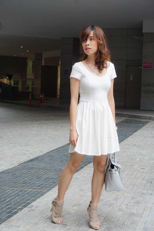 [FASHION] White Dress for Summer