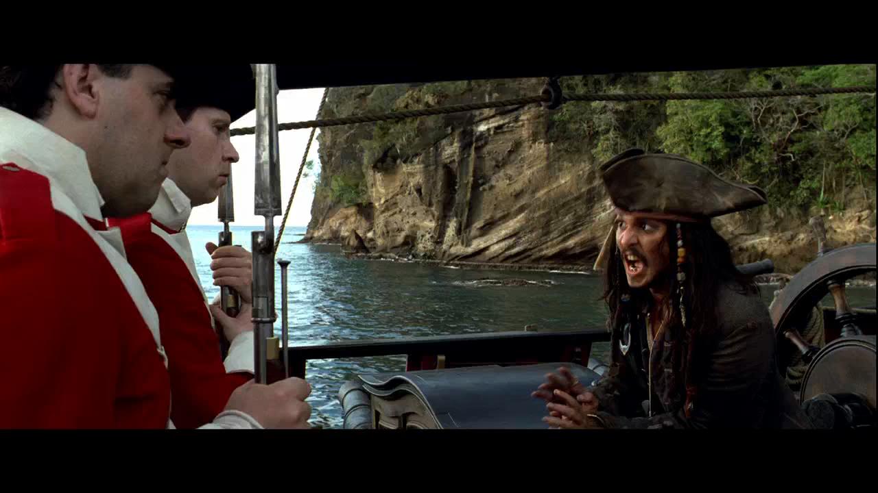 Piratas del Caribe: La Maldición del Perla Negra (2003) BRRip HD 720p Latino - Ingles captura 1