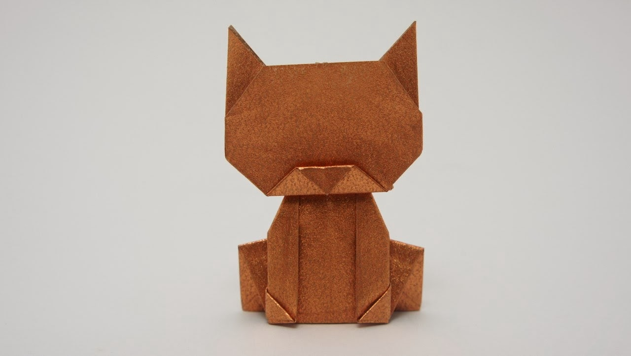 Neko Origami Instructions Tutorial Handmade Link By Wakeangel2001 On Deviantart Maniacs Money Cat Jo Nakashima