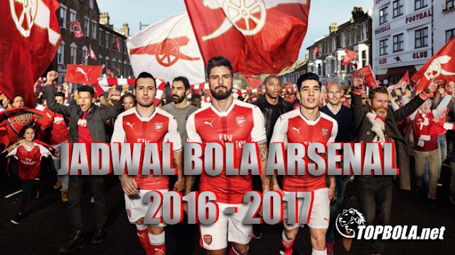 Jadwal Bola Arsenal
