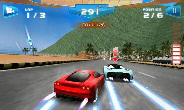 Game android balap mobil ukuran ringan