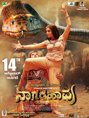 Poster Of Free Download Nagarahavu 2016 300MB Full Movie Hindi Dubbed 720P Bluray HD HEVC Small Size Pc Movie Only At worldfree4u.com