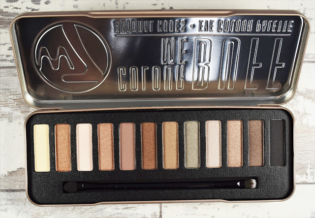 W7 Colour Me Buff Natural Nudes Eye Colour Palette