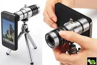 Rekomendasi Lensa Kamera Untuk Hp Android Seperti DSLR