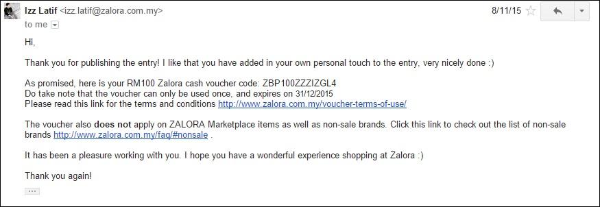contoh email sponsorship