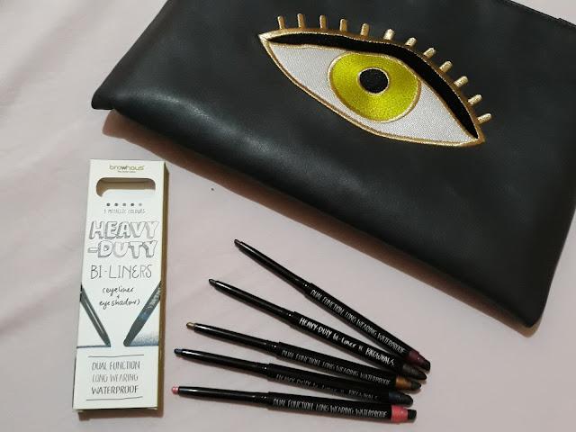 Musings of a Suzie - browhaus heavy-duty bi-liners eyeliner + eyeshadow