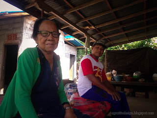Grandmother Is The Owner Of The Farmfield And Her Farmer At The Village