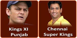 आइपीएल 6 का पैंतालीसवां मैच Ma Chidambaram stadium Chepauk Chennai में होने जा रहा है।