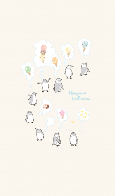 Penguins & Ice cream
