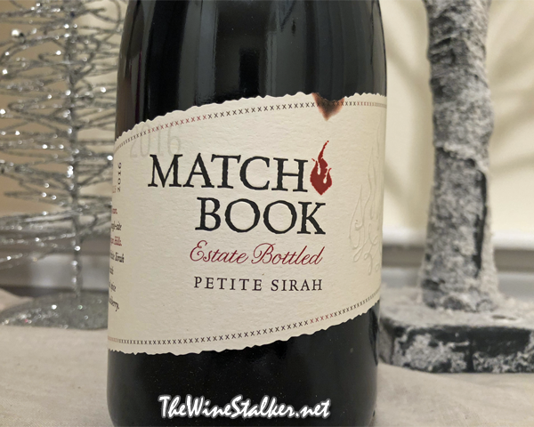 Matchbook Estate Bottled Petite Sirah 2016