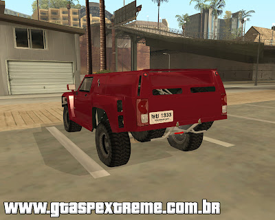 Hummer H3 Rally para grand theft auto