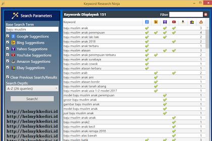 Download keyword research ninja terbaru gratis