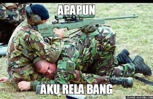 tentara lucu