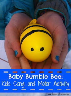 Baby Bumblebee Learning Materials