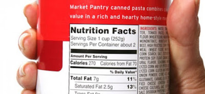 reading food labels, nutrition facts, tips, 3 tips to read ingredient labels, ingredient list