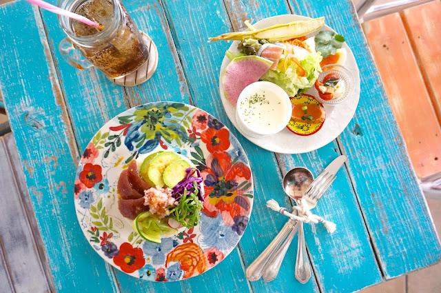富山 カフェ micka ミクカ cafe アヒポキ丼 マグロサーモン丼 海鮮 ランチ