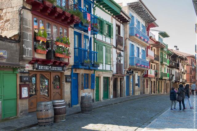 Hondarribia Fuenterrabi Pueblo encanto Pais Vasco