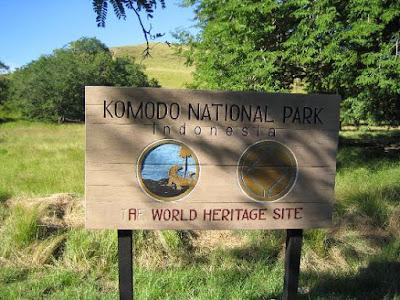 taman nasional pulau komodo indonesia