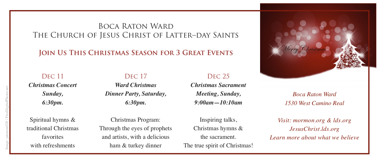 Lds Christmas Concert.Charity Never Faileth Christmas Events 2011
