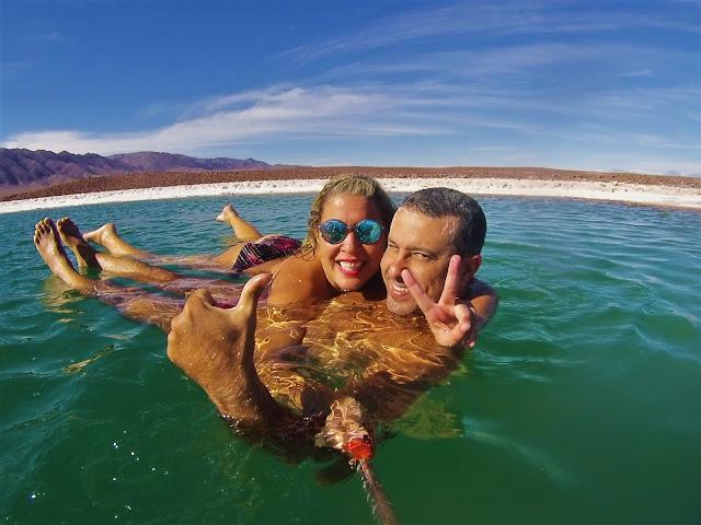 Eeeeeeeeeee feliz da vidaaaaa - Lagunas Escondidas, Atacama