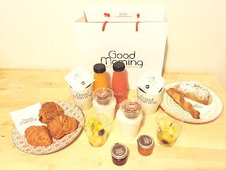 Livraison de petit déjeuner à domicile Good Morning Paris