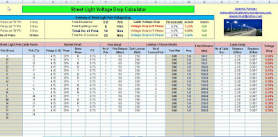Calculation Tools(Excel) - EIA-Technology for Volt & Current