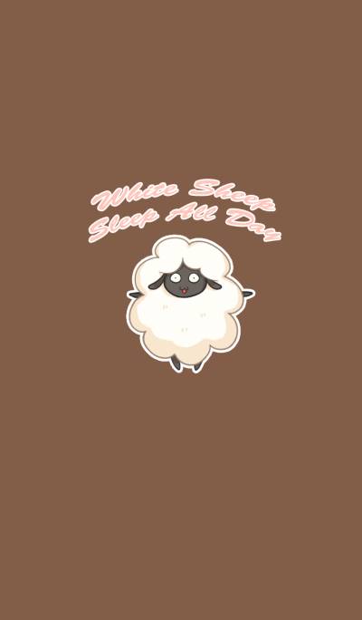 White Sheep Sleep All Day