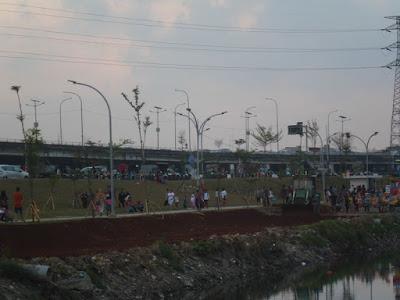 Taman RPTRA Kali Jodo Jakarta