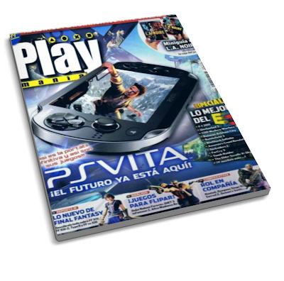 """Revista Playmanía: PSVISTA """"El futuro ya esta aqui"""" Agosto 2011"""