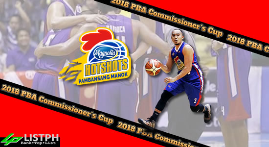List of Magnolia Hotshots Pambansang Manok Roster 2018 PBA Commissioner's Cup